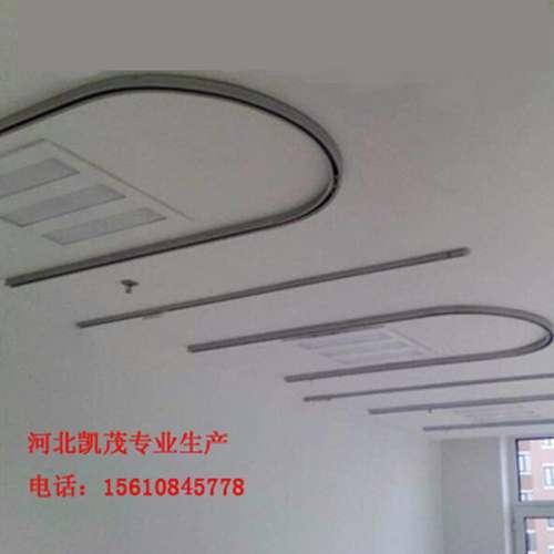 河南凯茂U型输液轨道(氧化)医用铝合金轨道吊杆(挂钩)