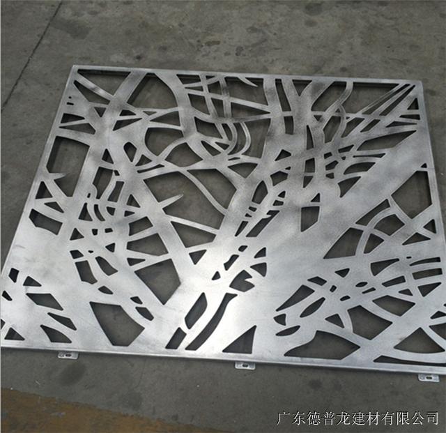 仿木纹铝花格/型材铝窗花/雕刻镂空铝窗花厂家吊顶铝窗花制造