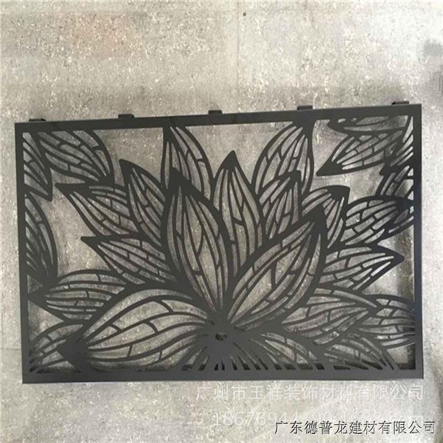 定制异形雕花包柱铝单板  装饰镂空正方铝包柱