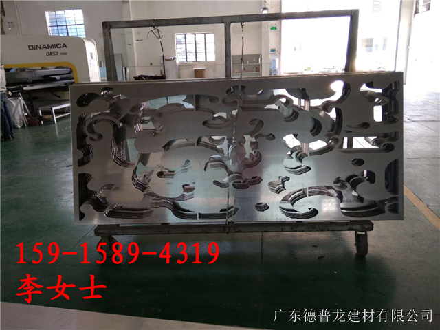 圆形包柱雕刻铝单板   木纹雕刻铝单板