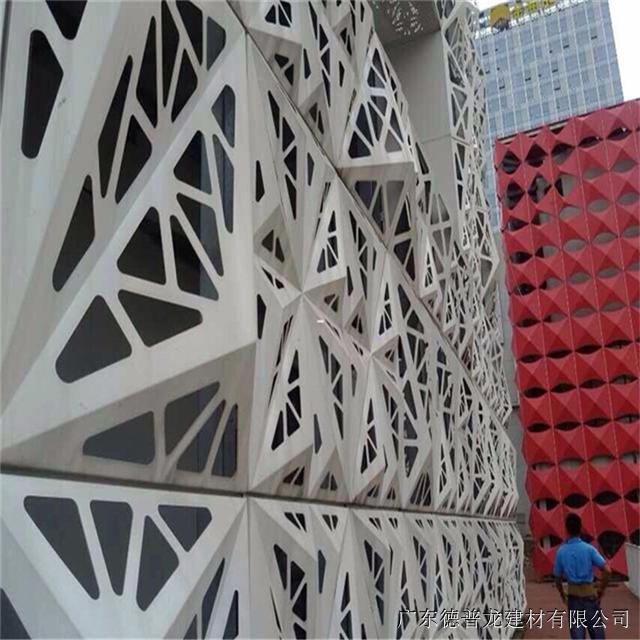 铝合金雕花装饰板 雕花铝单板幕墙的未来前景