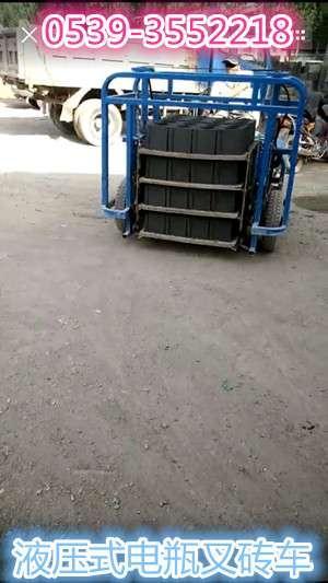 水泥砖电瓶叉砖车电瓶运砖车价格