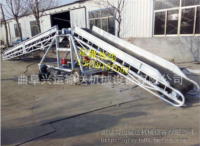 义务转弯皮带输送机定做 带式输送机厂家
