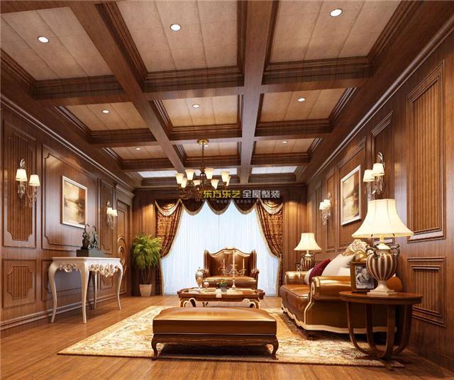 客厅集成墙面效果图,客餐厅集成墙面装修设计效果图大全赏析