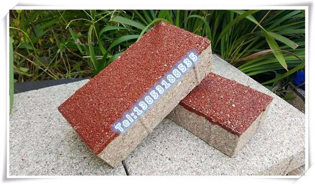 宜兴陶瓷透水砖唐山陶瓷透水砖宜兴陶土砖烧结砖唐山烧结砖道板砖