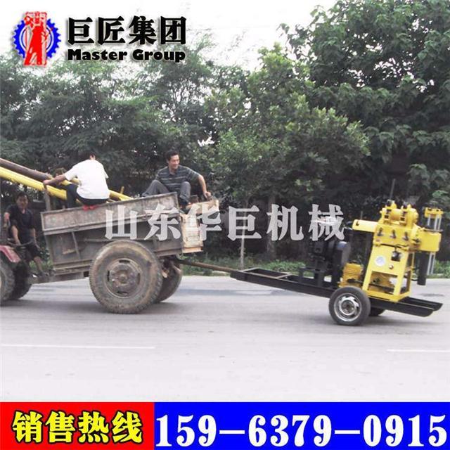 轮式液压行走钻机用xyx-200小型轮式液压勘探钻机方便快捷图片