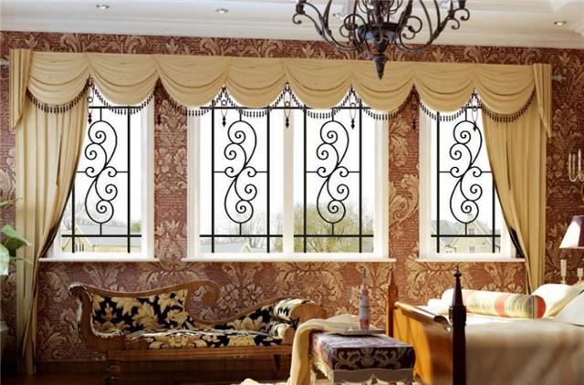 贵港市港式铝窗花|铝合金窗花|铝窗花款色定制