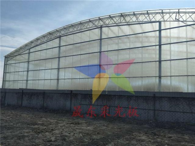 阳光房阳光板透明彩钢瓦亮瓦彩钢板瓦透明瓦天井雨棚板彩钢瓦