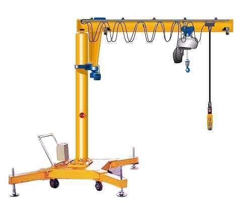 kone科尼环链电动葫芦 欧式葫芦 科尼起重机 悬臂吊图片