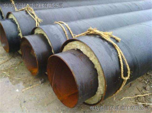 钢套钢保温管蒸汽直埋  直埋钢套钢保温管道结构依据滑动方式不同分