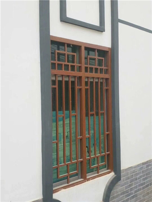 专业定做铝窗花,各种花式木纹仿古复古厂家价格