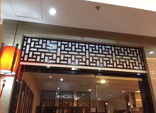 綺園商業街鋁窗花專業設計