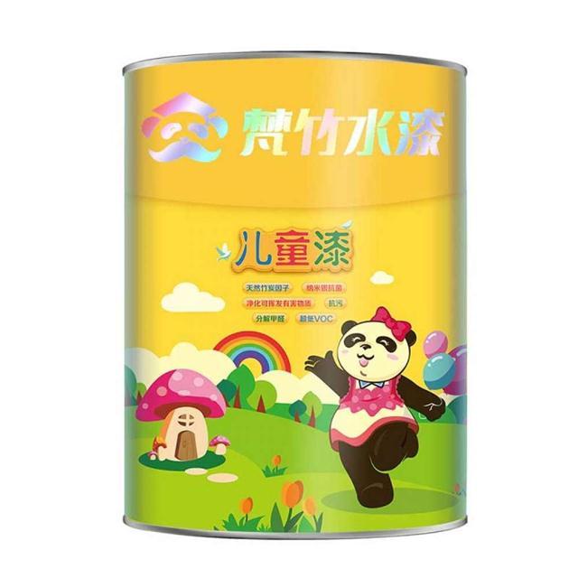 梵竹水漆 儿童漆 室内儿童房墙面环保水性涂料乳胶漆