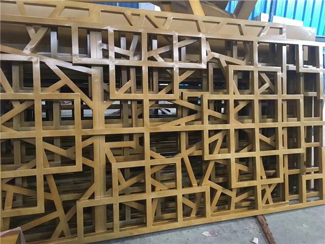 廠家供應定制仿古造型鋁窗花
