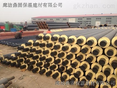 DN450热水蒸汽聚氨酯保温管厂家生产