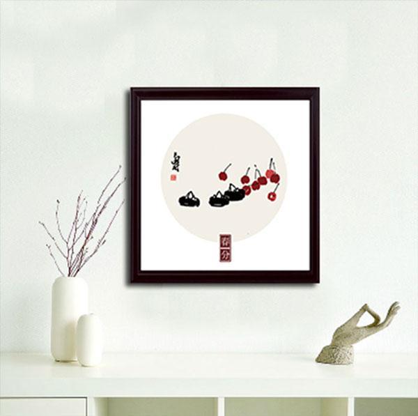 时间出品-硅藻艺术挂画 春夏秋冬系列
