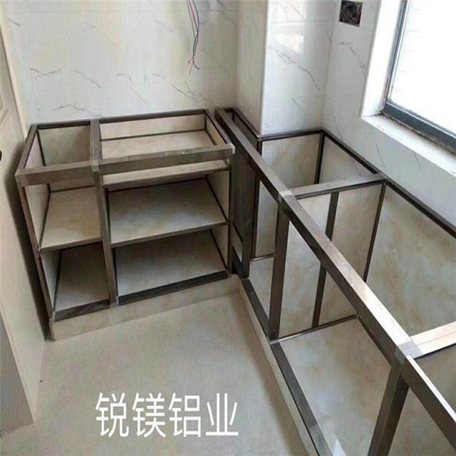 锐镁厂家直销全铝陶瓷橱柜型材 全铝家具智能鞋柜型材批发 铝型材