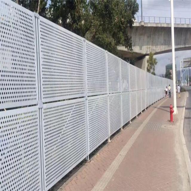 建筑施工围挡 彩钢围挡  道路施工彩钢围挡实力厂家