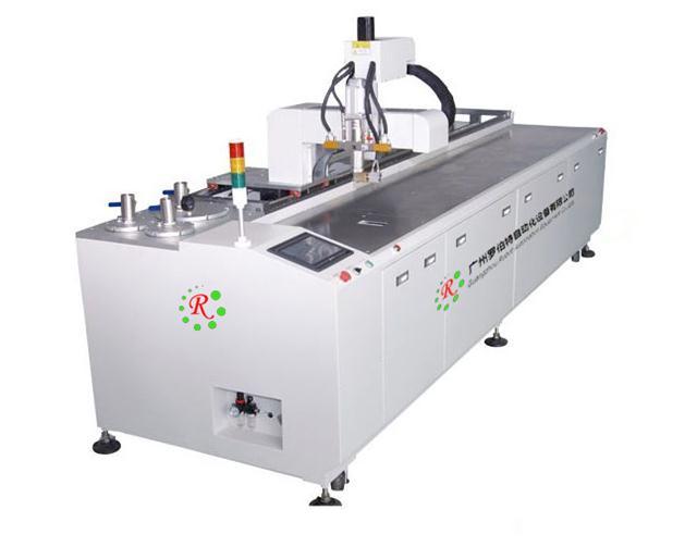 玻镁净化板淋胶机,夹芯板涂ab胶设备