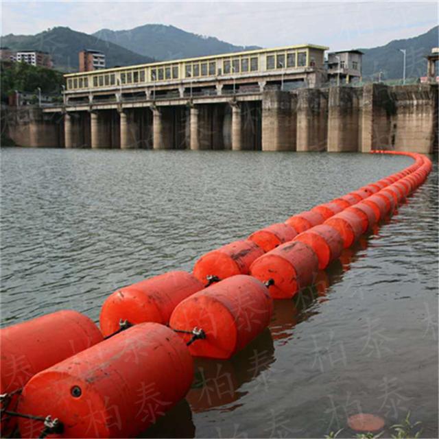 可定做活动式拦污装置 塑料拦污排 浮筒生产厂家