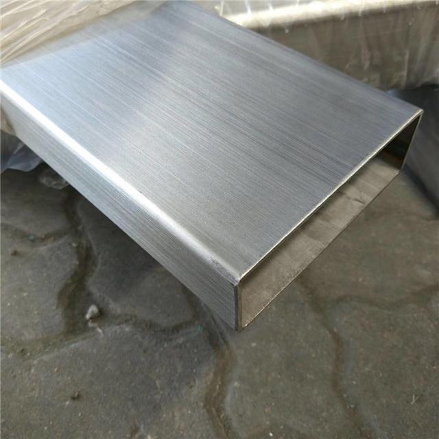 304不锈钢管价格45*75*2.0,304不锈钢矩形管45*95*3.0