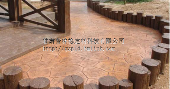 徐州水泥压模地坪色彩丰富徐州压模地坪施工步骤介绍
