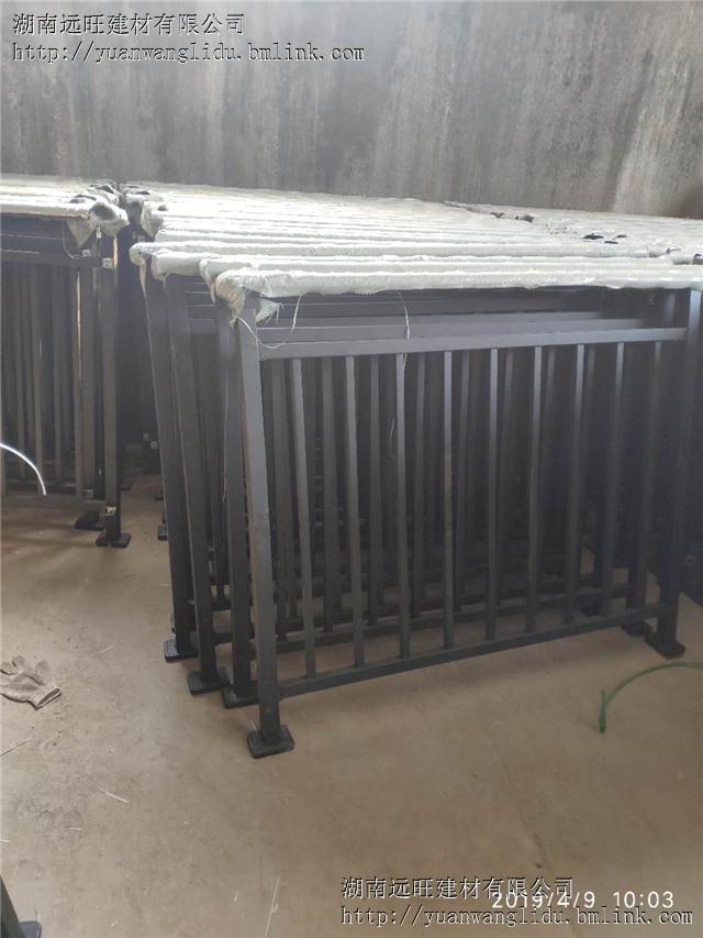 供应长沙锌钢护栏厂家 成品价格低