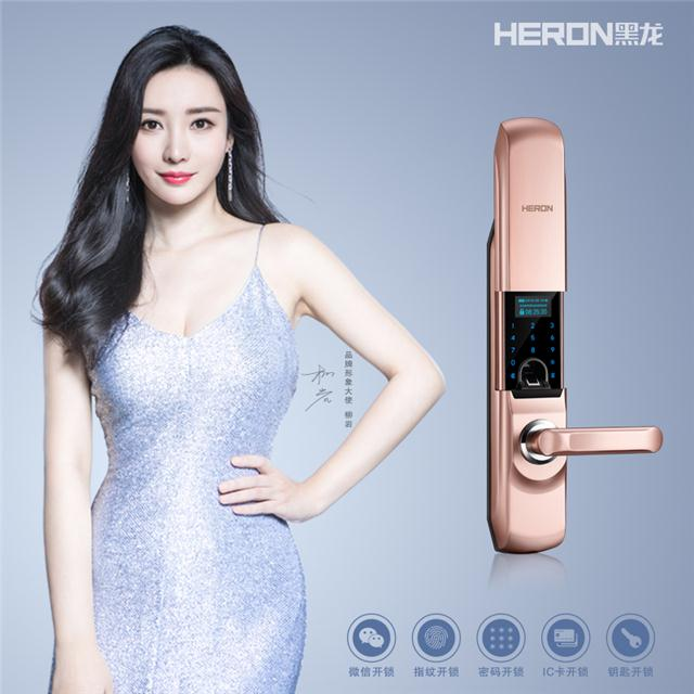 HERON黑龙智能指纹锁H5