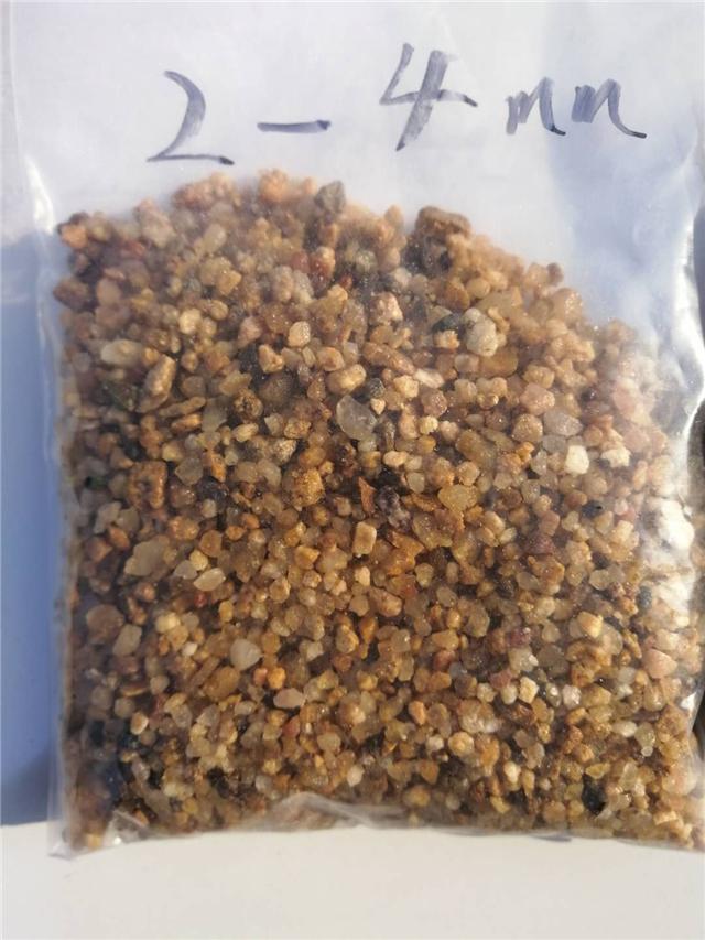 石英砂滤料厂家直销1-2mm价格/天然圆粒海沙/过滤用海砂价格