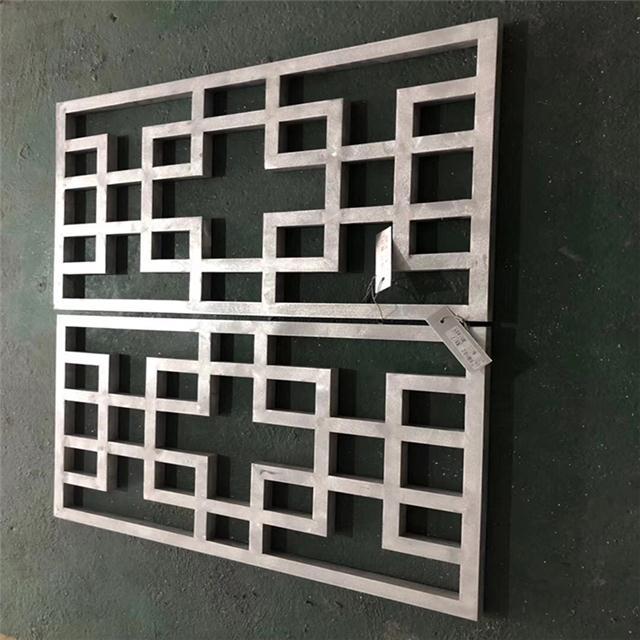 铝合金焊接窗花防盗窗-铝花格-铝格栅专业厂家