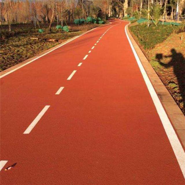 专业承接沥青路面改色,经验丰富。可靠放心