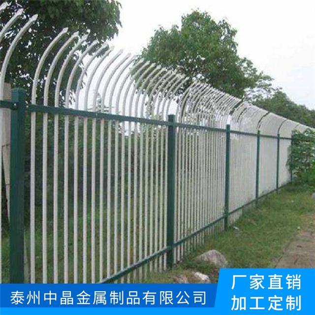 供应建湖热镀锌环保草坪护栏生产厂家安装