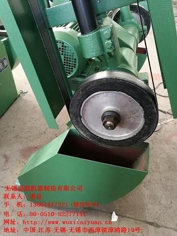 无锡泰源专业定制砂带布轮抛光机