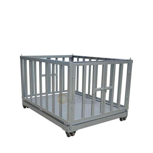 不锈钢2t防水动物秤