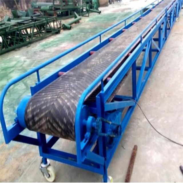 曲阜圆管材质凹槽散料输送机图文LJY8