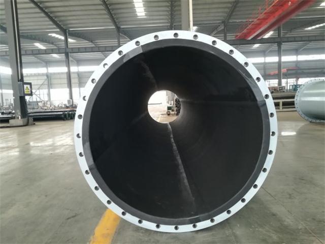 供应碳钢衬胶管,碳钢衬胶管道