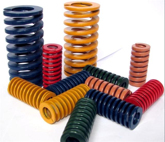 供应模具弹簧,气压弹簧,高抗拉抗压模具弹簧订做
