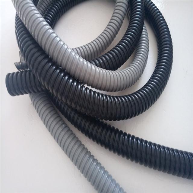 福莱通金属包塑软管FSP型生产 PVC披覆热浸锌蛇皮管规格