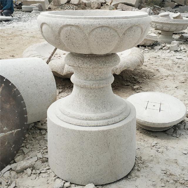 哪里石雕花盆花钵价格便宜