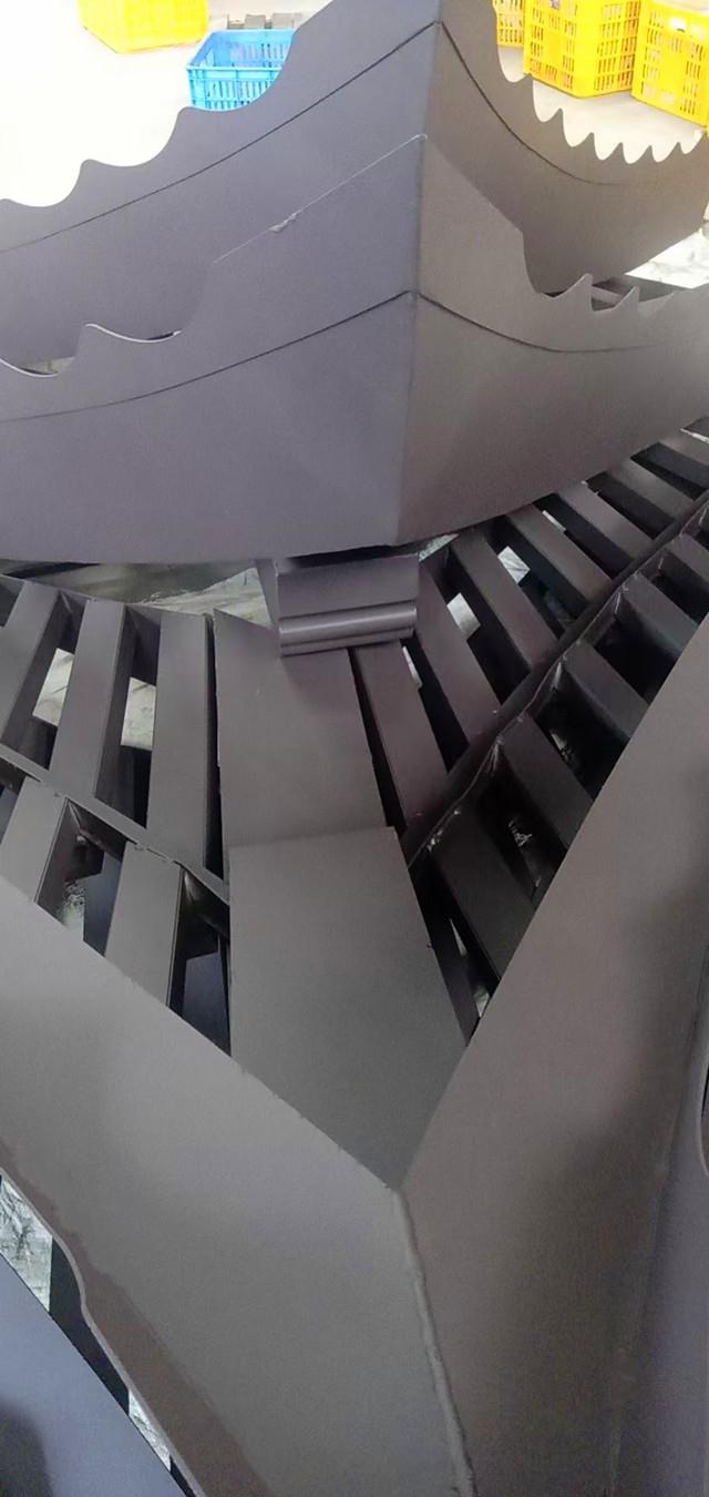 现代中式仿古建筑古典装饰铝合金飞檐翘角定做