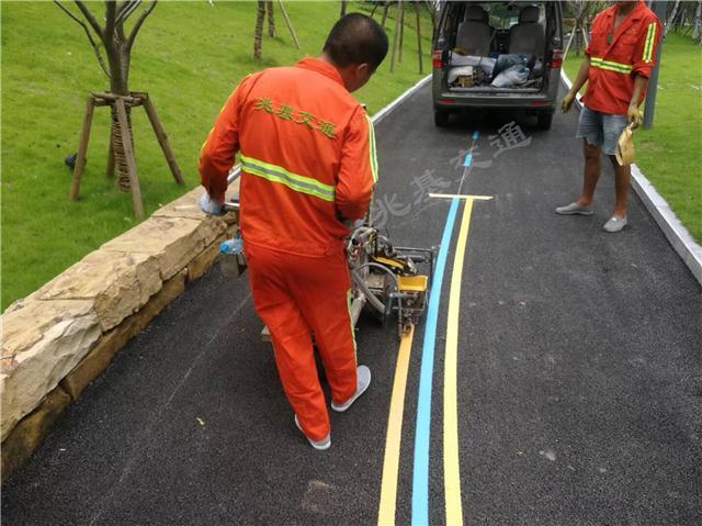 重庆马路划线 重庆公路热熔划线公司