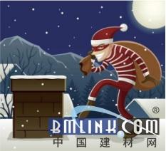 欧神诺陶瓷:为了送惊喜和祝福给你们,圣诞老人竟跑去做搬砖工!