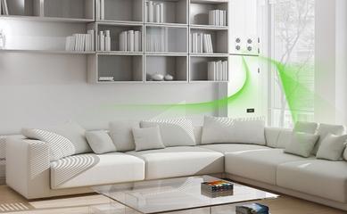 于是,时代新风就进入了建筑装修市场,而在智化环境,随着空气和衣柜双人床和大系统图片