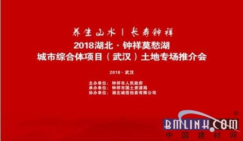 2019湖北2019钟祥莫愁湖城市综合体项目(武汉)土地专场推介会