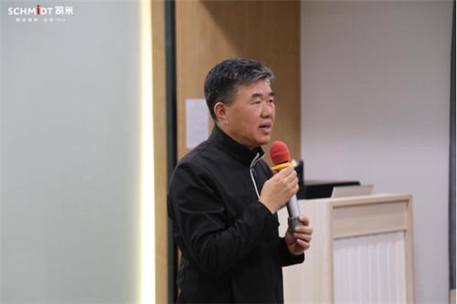 华人明星设计师组团走进司米橱柜生产一线,畅谈智造设计之道