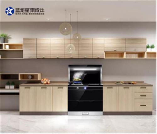 集成灶10大品牌,蓝炬星集成灶适合所有L型厨房