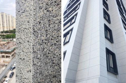 精品案例︱新一代超耐污真石质感体系 别人家的安置房外墙都这么高大上了!