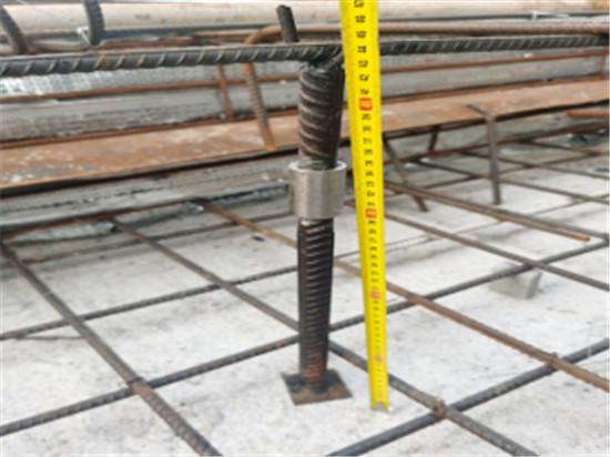 一种可调节、可周转的新型钢筋马凳装置
