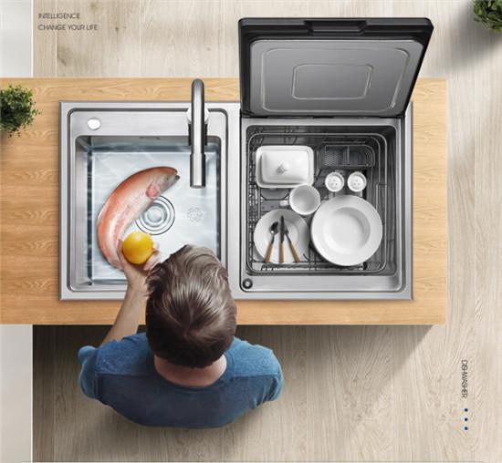 浙派水槽洗碗机:女人的手不是用来洗碗的!让我来吧