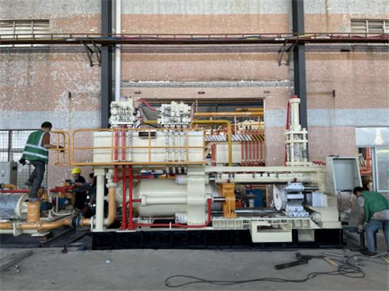 科努克铝材 | 产能升级—智造设备再添新成员,年产量达10000吨!